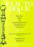 FLAUTO DOLCE 3 - SOPRANO by L.Daniel      descant recorder instructions & excersises