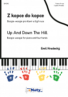 Emil Hradecký: Up and Down the Hill - 1 piano 4 hands + CD