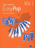 Easy Pop 1 by Daniel Hellbach / 16 pieces fo the piano