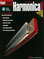 FASTTRACK - HARMONICA 1 + Audio Online  music instruction
