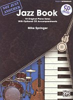 Not Just Another Jazz Book 2 (blue) + CD / 10 intermediate original piano solos