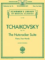 TCHAIKOVSKY - THE NUTCRACKER SUITE Op. 71a + Audio Online / 1 klavír 4 ruce