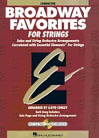 BROADWAY FAVORITES FOR STRINGS + CD / conductor