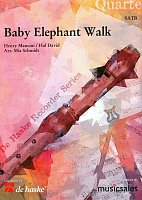 Baby Elephant Walk / recorder quartet (SATB)
