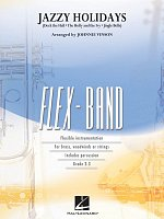 FLEX-BAND - JAZZY HOLIDAYS (grade 2-3) / score & parts