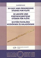 Gariboldi: 30 Easy and Progressive Studies for flute