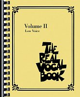THE REAL VOCAL BOOK II - Low Voice - vocal/chords