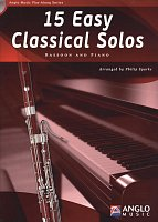15 Easy Classical Solos + CD / bassoon + piano
