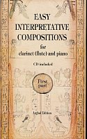 EASY INTERPRETATIVE COMPOSITIONS + CD  flute