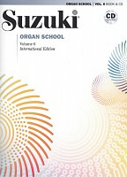 Suzuki Organ School Organ Book 6 + CD