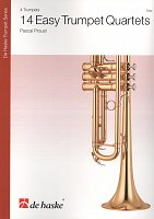 14 Easy Trumpet Quartets / partitura + party