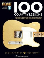 100 Country Lessons + Audio Online / kytara + tabulatura