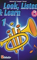 LOOK, LISTEN & LEARN 1 + CD method for trumpet