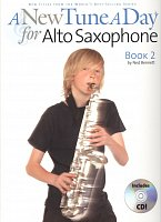 A New Tune A Day - Book 2 + CD / method for alto saxophone