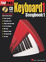 FASTTRACK - KEYBOARD 1 - SONGBOOK 1 + CD