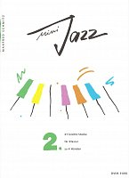 MINI JAZZ 2 - 21 easy pieces for 1 piano 4 hands