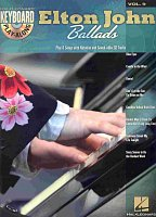 KEYBOARD PLAY-ALONG 9 - Elton John Ballads + CD  piano/vocal/chords