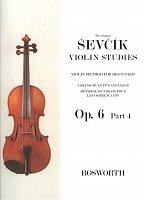 Otakar Ševčík - Opus 6,  VIOLIN STUDIES part 4