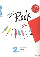 Mini ROCK 2 - 19 easy rock pieces for 1 piano 4 hands