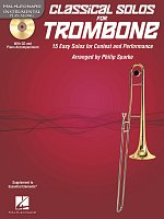 CLASSICAL SOLOS for TROMBONE + CD / trombone + piano