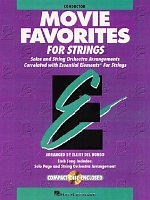 MOVIE FAVORITES FOR STRINGS + CD / score