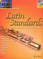 LATIN STANDARDS + CD / flute + piano