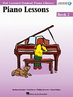 PIANO LESSONS BOOK 2 + Audio Online