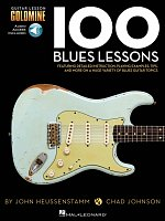 100 Blues Lessons + Audio Online / kytara + tabulatura