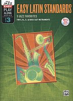 Alfred Jazz Easy Play-Along Series 3 - Easy Latin Standards + CD
