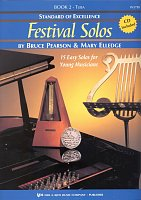 Standard of Excellence: Festival Solos 2 + CD / tuba
