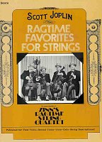 RAGTIME FAVORITES - string quartet / partitura