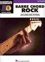 BARRE CHORD ROCK - GUITAR SONGS + CD / kytara + tabulatura