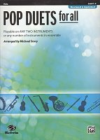 POP DUETS FOR ALL (Revised and Updated) level 1-4 //  viola