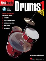FASTTRACK - DRUMS 1 + Audio Online  music instruction