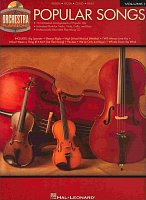 ORCHESTRA PLAY ALONG 1 - Popular Songs + CD violin/viola/cello/bass