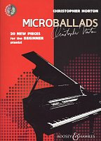 MICROBALLADS + CD / 20 pieces for the beginner pianists