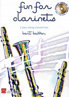 FUN FOR CLARINETS + CD / tria pro klarinet