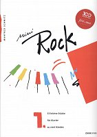 Mini ROCK 1 - 53 easy rock pieces for piano