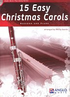 15 Easy Christmas Carols + CD / bassoon + piano