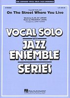 On the Street Where You Live - Vocal Solo with Jazz Ensemble - score + parts