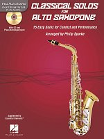 CLASSICAL SOLOS for ALTO SAXOPHONE + Audio Online / alto sax + piano