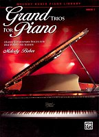 Grand Trios for Piano 1 - four early elementary pieces for 1 piano 6 hands