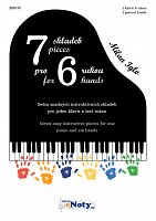 7 pieces for 6 hands - Milan Iglo / 1 piano 6 hands