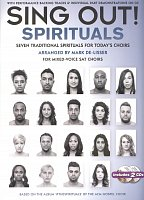 SING OUT! - SPIRITUALS + 2x CD / 7 traditional spirituals for today's choirs