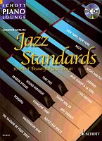JAZZ STANDARDS (16 most beautiful jazz songs) + CD  piano/chords