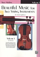Beautiful Music for Two String Instruments 1 / skladby pro dvoje housle