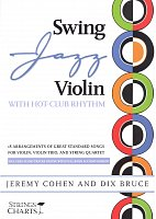 Swing Jazz Violin with Hot-Club Rhythm + Audio Online