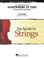 Somewhere in Time - String Orchestra with Piano / score + parts