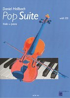 POP SUITE by Daniel Hellbach + CD / housle + klavír