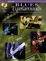 Blues Turnarounds + CD / a compendium of patterns & phrases for guitar
